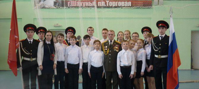 Обучающиеся объединения «Защитник»вступили в ряды Всероссийского детско-юношеского военно-патриотического движения «ЮНАРМИЯ»