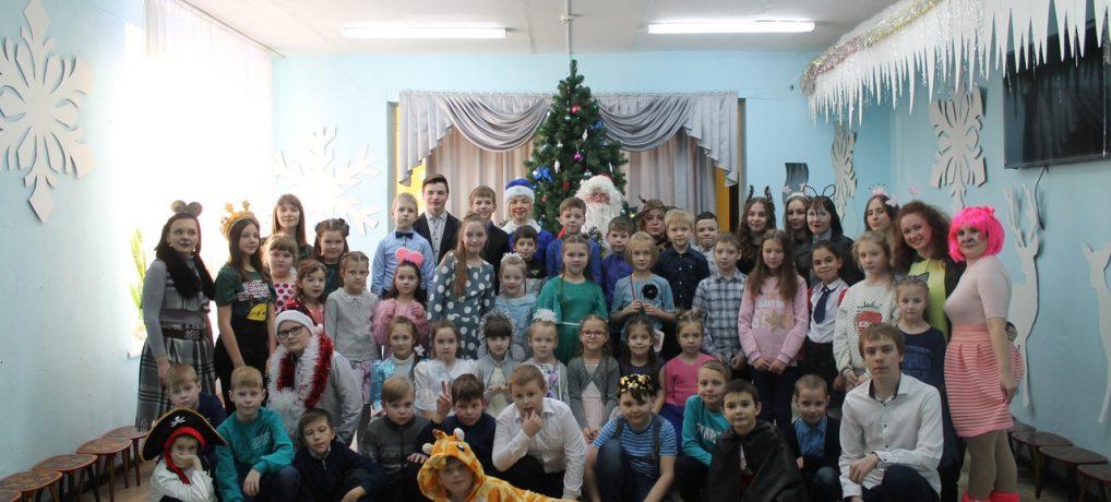 Новогоднее представление «Новый год в кругу друзей, или Мышеловка для Деда Мороза «
